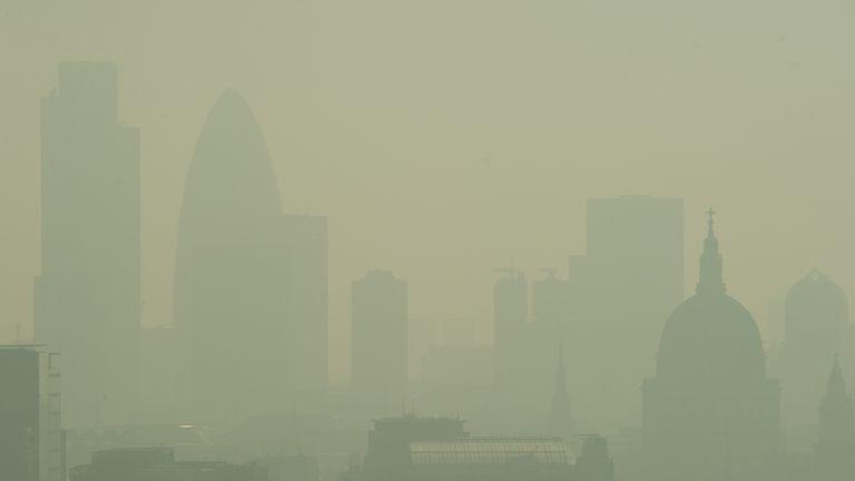 Londong smog