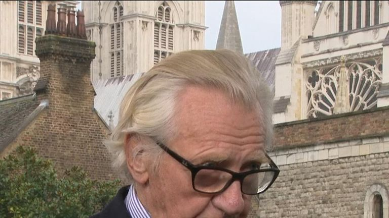Lord Heseltine thinks Boris Johnson cannot win a general election outright