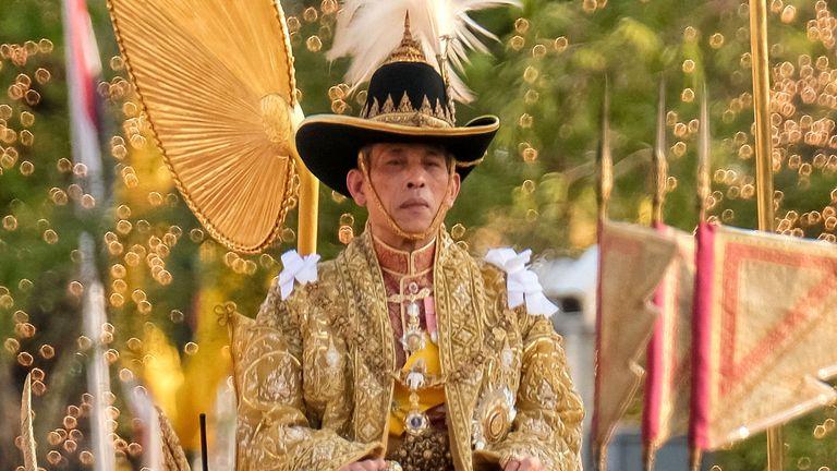 King Maha Vajiralongkorn was crowned back in May