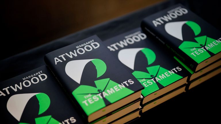 Margaret Atwood's The Testaments has made the Booker Prize 2019 shortlist