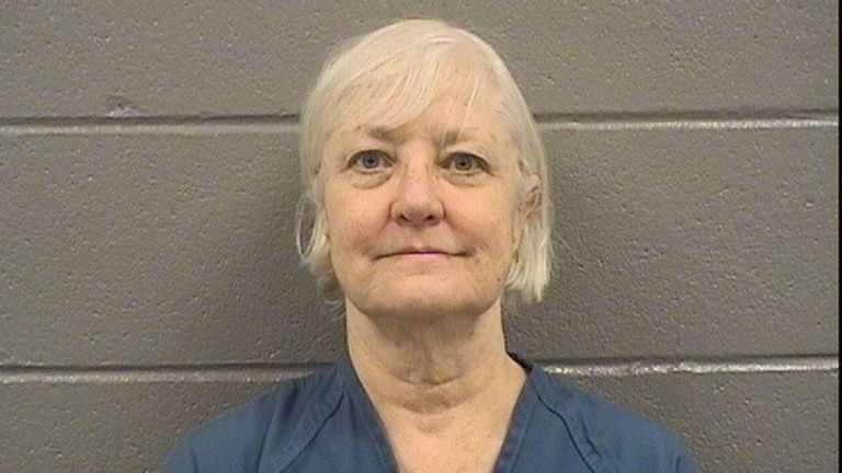 Marilyn Hartman was caught at Chicago's O'Hare airport without a ticket
