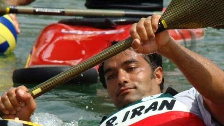 Masoud Mohammadifar used to run Iran's national boating team
