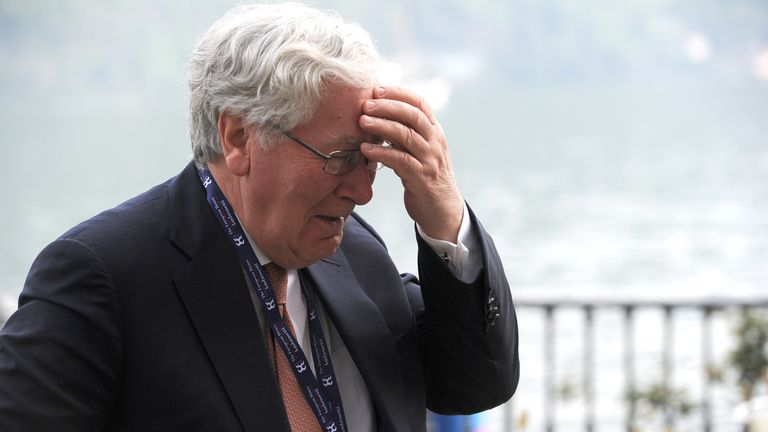 Lord King says 'everyone is completely fed up' with Brexit