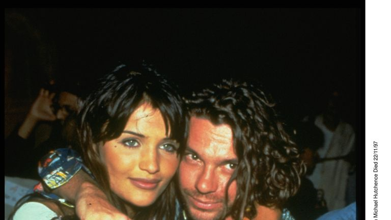 Michael Hutchence And Helena Christensen