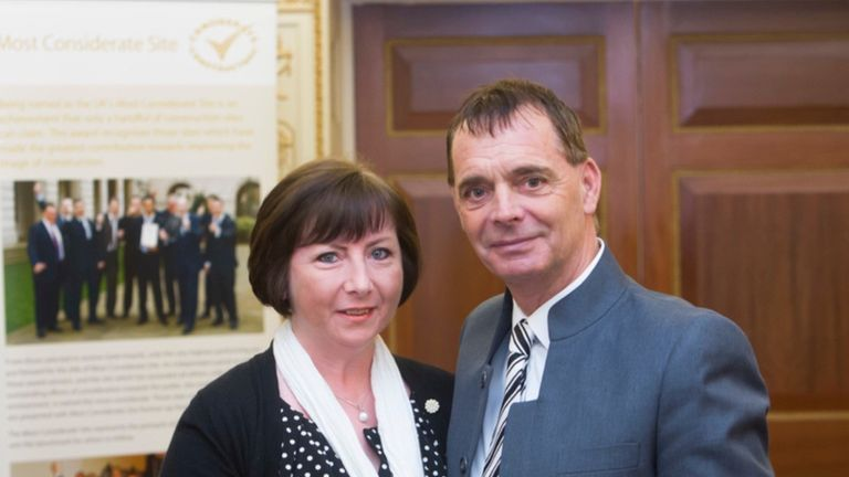 Michael Turlin and his wife Tracey