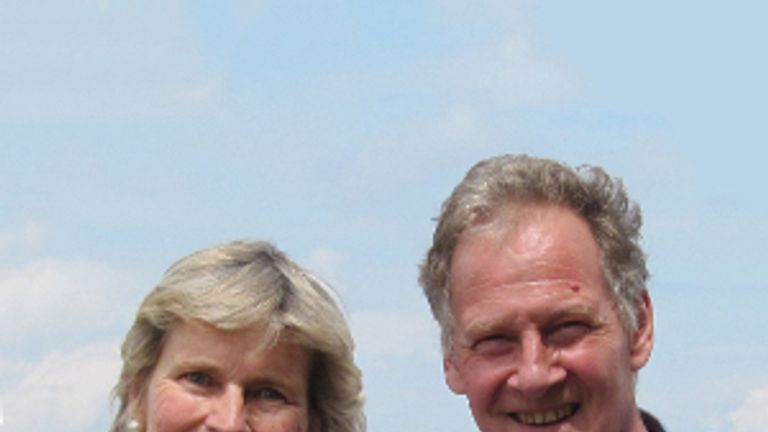 Miranda and Peter Harris. Pic: Mick Hough