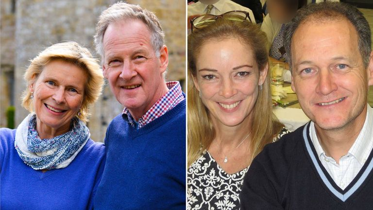Miranda and Peter Harris, and Susanna and Chris Naylor. Pic: A Rocha