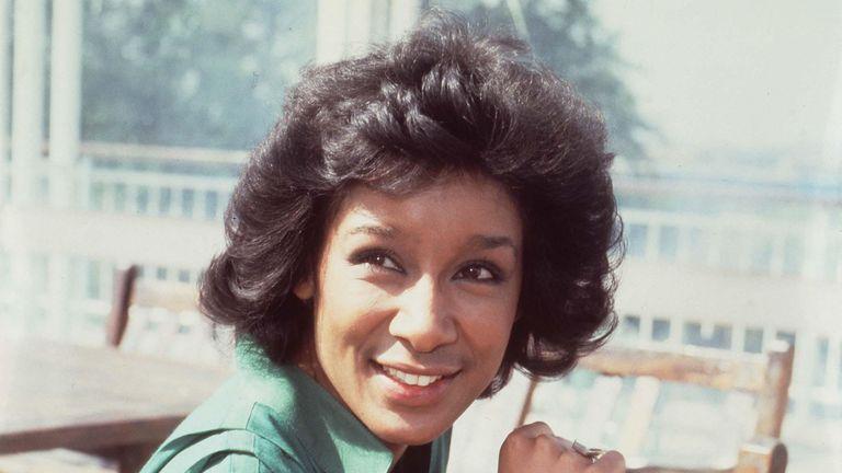 BBC newsreader Moira Stuart