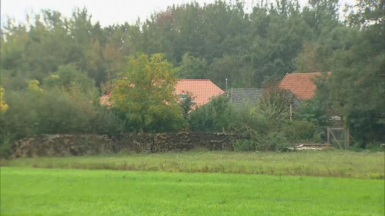 A family have been discovered living in seclusion on a farm in the Netherlands