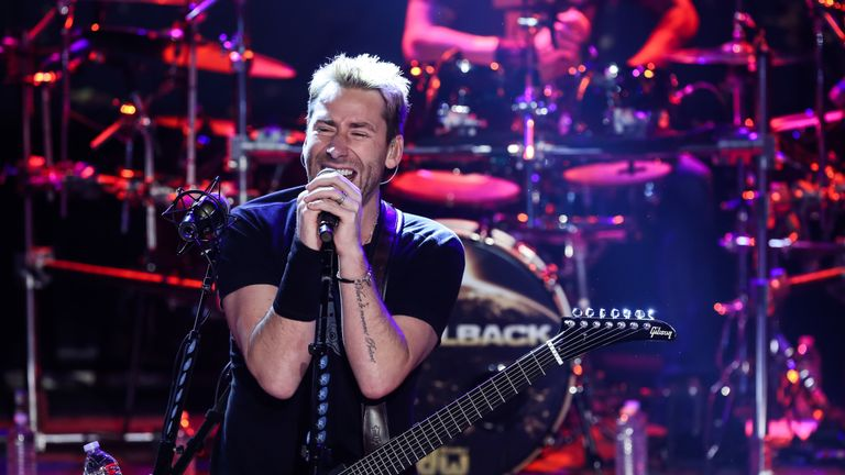 Trump video removed from Twitter after Nickelback complaint