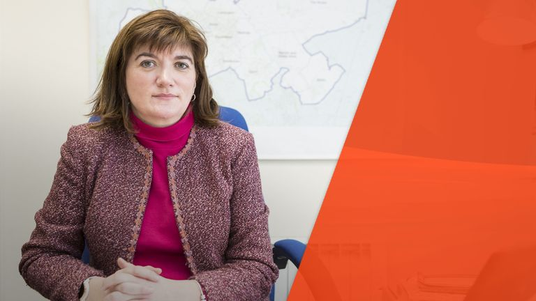 Nicky Morgan says the government will instead focus on its new 'online harms' regulation