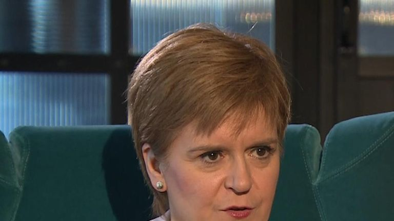 Nicola Sturgeon is not keen to discuss hypothetical situations around Brexit and another independence referendum