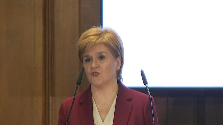 Nicola Sturgeon welcomes the UK parliament's decision over the timing of debating of the proposed Brexit deal