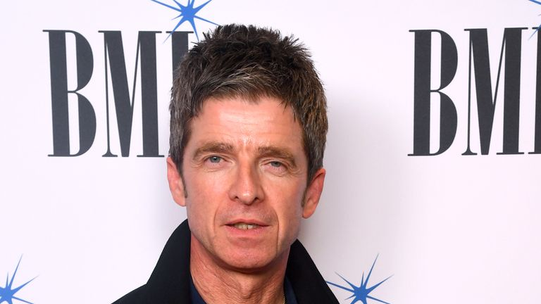 Noel Gallagher at the BMI Awards