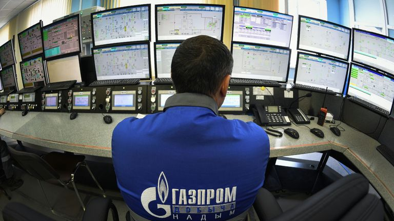 Russian energy firm Gazprom has completed 87 per cent of the Nord Stream 2  pipeline