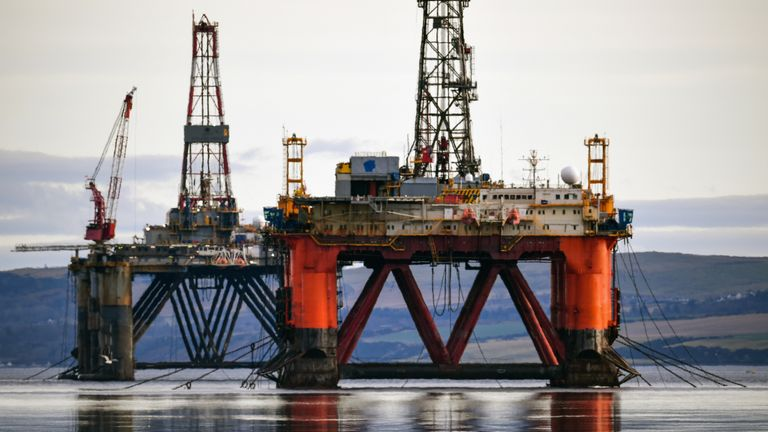The North Sea has 5000 oil wells in need of decommissioning