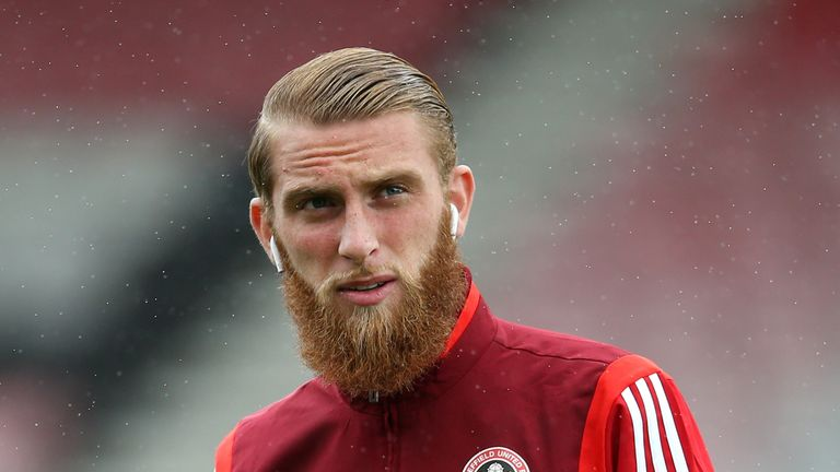 Oliver McBurnie has been charged with drink-driving
