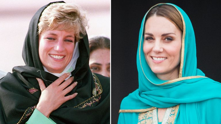 There were many similarities between the two womens' visits to Pakistan