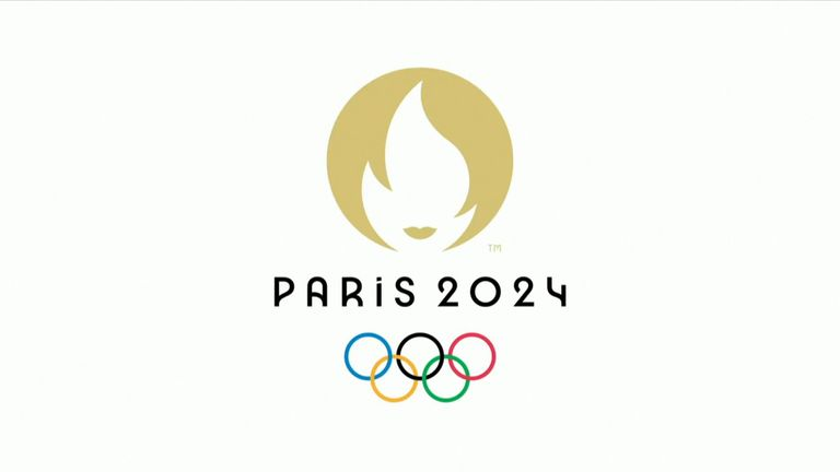 The official logo of the Paris 2024 Olympic Games was unveiled in Paris