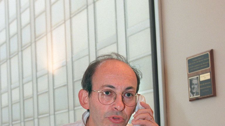 Professor Philippe Menasche is treating Michael Schumacher in Paris