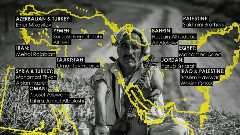 Mehdi Rajabian's album. Pic: Mehdi Rajabian