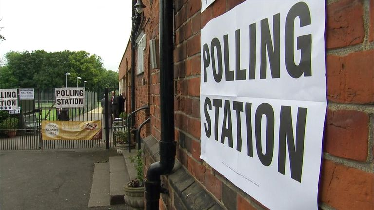Polling station yet