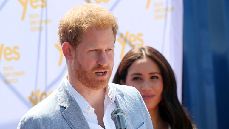 It is the final day of the Duke and Duchess of Sussex's 10-day tour of Africa