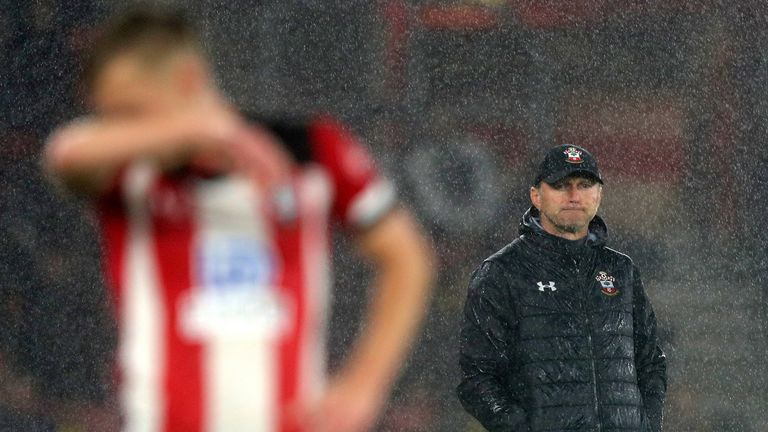 Southampton manager Ralph Hassenhuttl apologised for his team's embarrassing showing