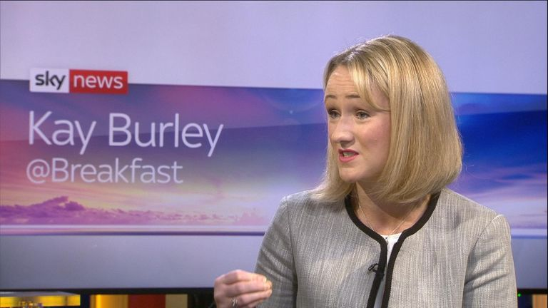 MP Rebecca Long-Bailey