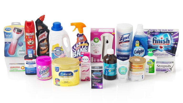 Reckitt Benckiser makes goods for health and in the home. Pic: RB