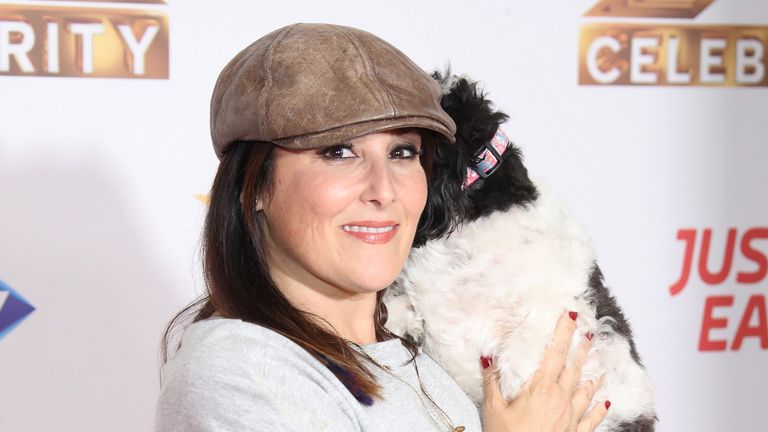 "Ricki Lake attends ""The X Factor: Celebrity"" launch photocall at The Mayfair Hotel on October 09, 2019 in London"