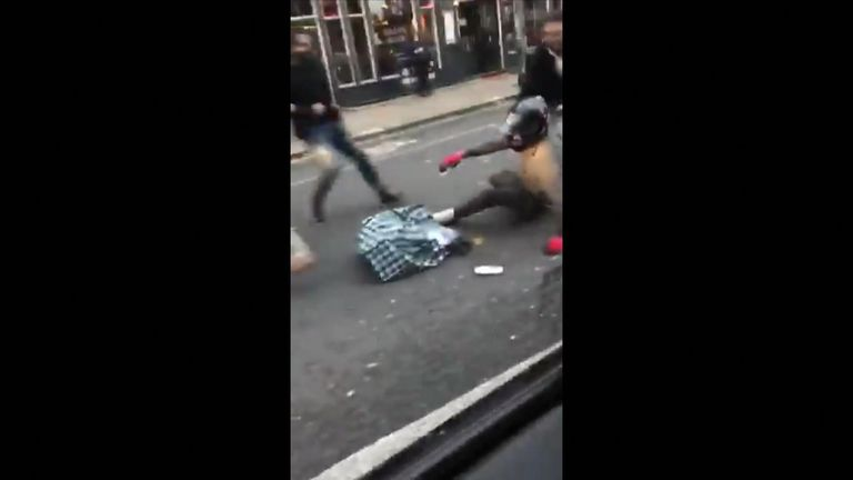 Robbery in west London