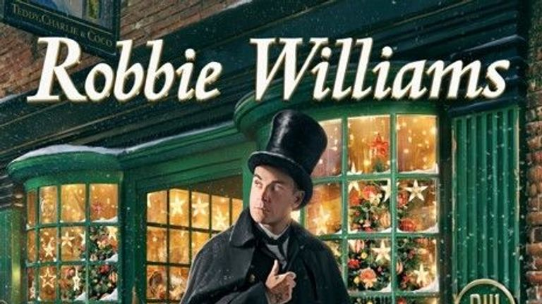Robbie Williams first ever Christmas Album will feature 28 tracks