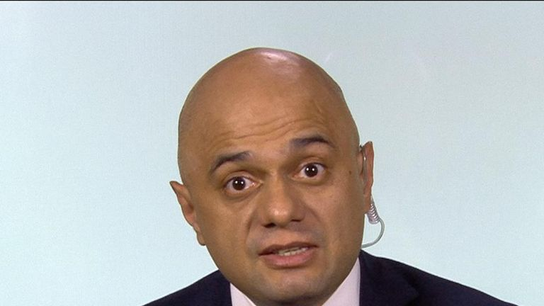 Sajid Javid wants to get Brexit done
