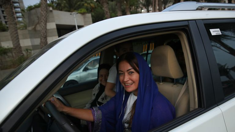 Women in Saudi Arabia were given the legal right to drive in 2018