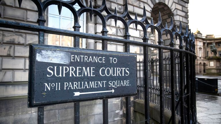 The Supreme Courts and Court of Session in Parliament Square, Edinburgh