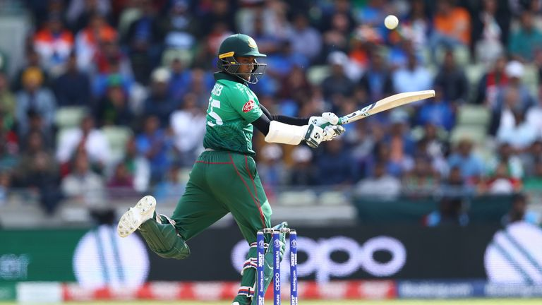 Shakib has made  338 international appearances for Bangladesh