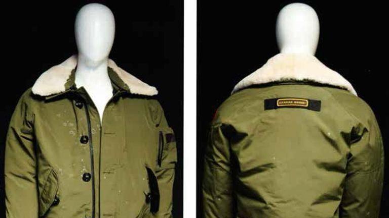 The jacket Shane O'Brien was wearing the night he killed Josh Hanson