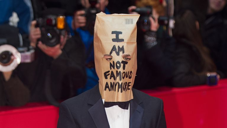 LaBeouf has previously been more well-known for his off-screen antics than his acting