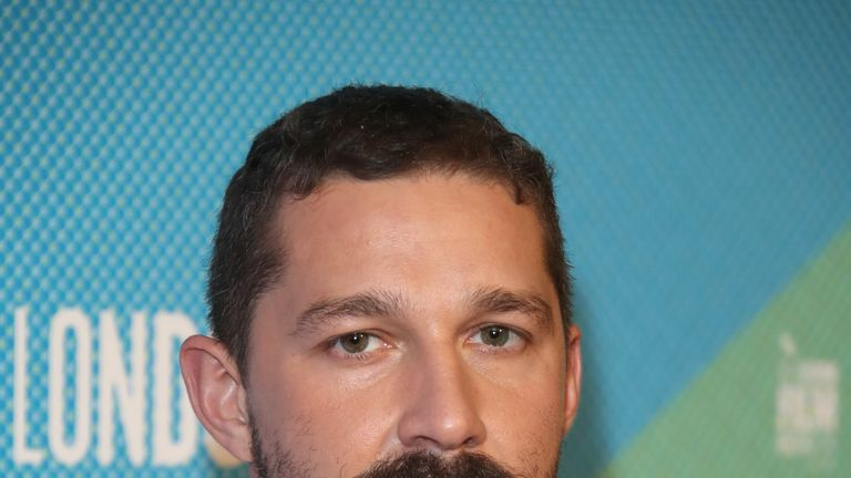 LeBeouf credits his co-star with re-igniting his love of acting