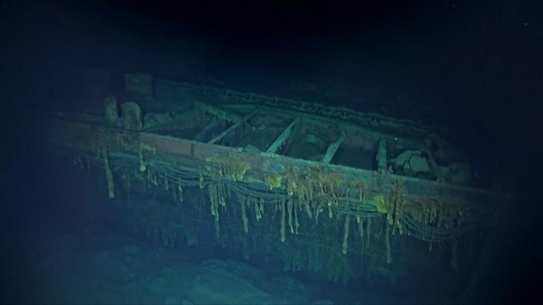 The main wreckage of the Kaga had been missing until now