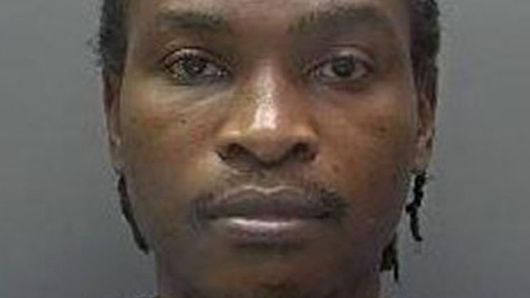 Shohfah-El Israel was jailed for 17 years for the murder of Joy Morgan. Pic: Hertfordshire Police