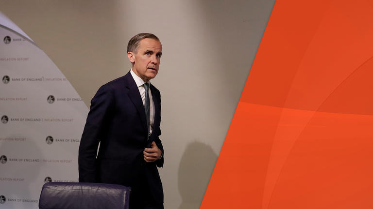 Mark Carney said his mind is open but the door is not when it came to the currency
