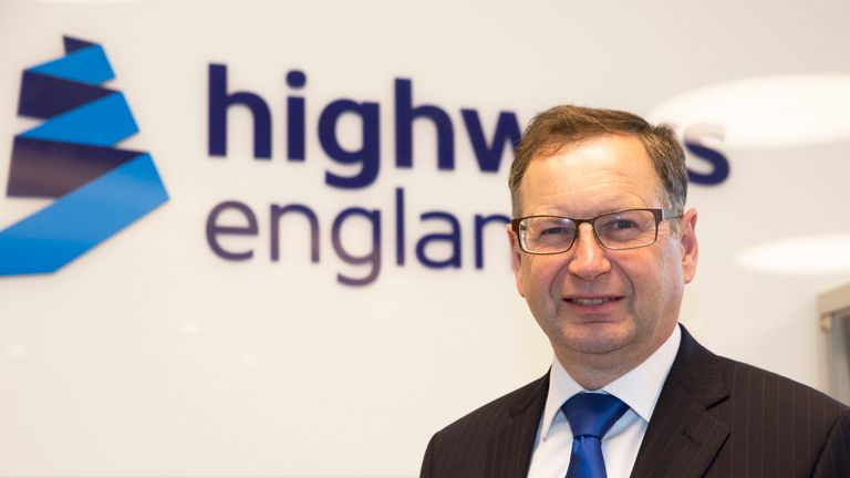 Highways England boss Jim O'Sullivan said dynamic smart motorways are 'too complicated'
