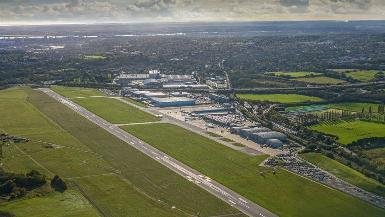 Southampton International Airport hopes to grow from two million to five million passengers by 2037