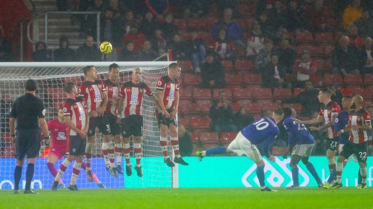 Southampton failed to stop Leicester scoring nine goals