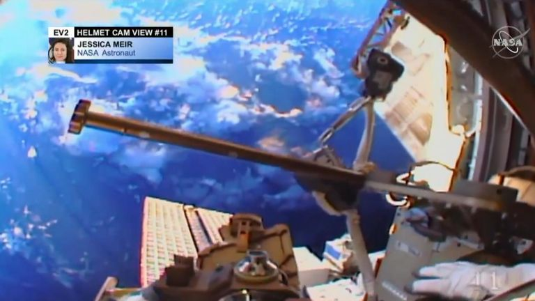 Spacewalks: 'The opposite of claustrophobia'