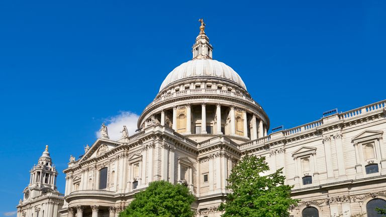 The woman allegedly planned to carry out a terrorist act at St Paul's Cathedral