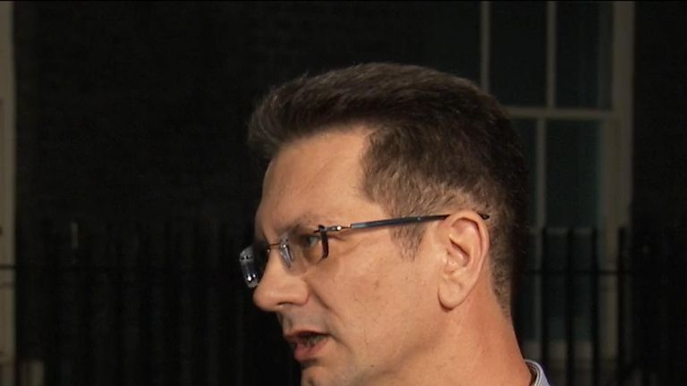 Steve Baker of the ERG says he and his colleagues 'wish the prime minister well' in attempting to close a Brexit deal
