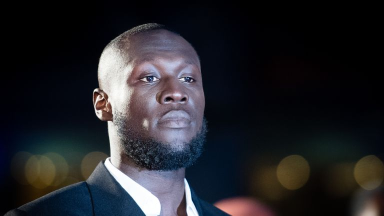 LONDON, ENGLAND - SEPTEMBER 03: Stormzy attends the GQ Men Of The Year Awards 2019 at Tate Modern on September 03, 2019 in London, England. (Photo by Samir Hussein/WireImage)